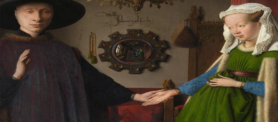 ประวัติงานศิลปะ The Arnolfini Portrait